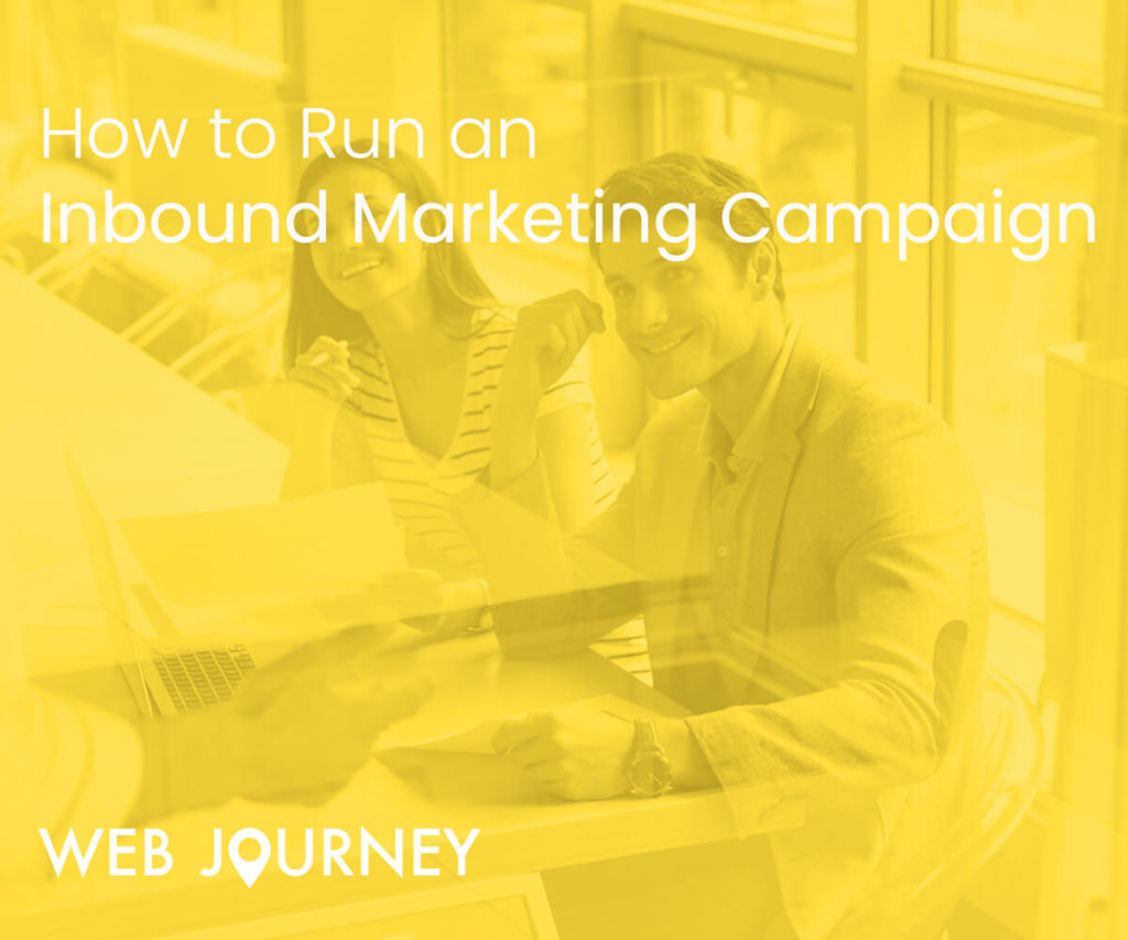 Web Journey How To Run an Inbound Marketing Campaign Image